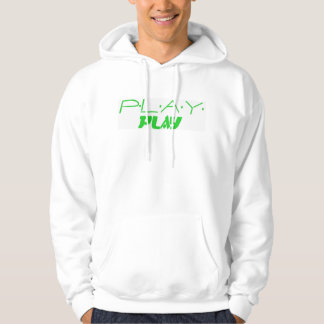 Play Double Logo-Green Hooded Pullover