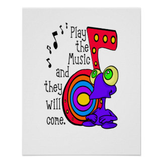PLAY THE MUSIC PRINT