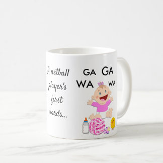 Player Positions Funny Netball Quote Coffee Mug