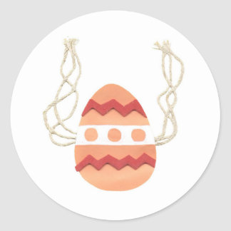 Playful Easter Egg Stickers