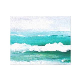 Beach and sea canvas prints