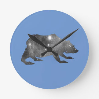 PLAYFULLY COOL UNIVERSE BEAR CLOCKS