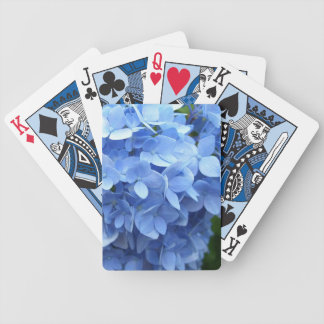 Playing Cards - Blue Hydrangea