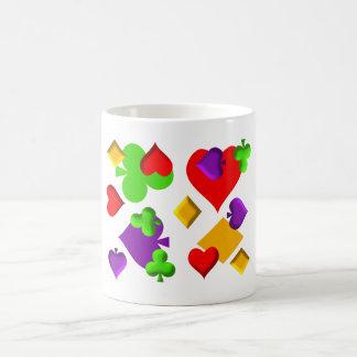 Playing Cards Figures Pattern Design Coffee Mug