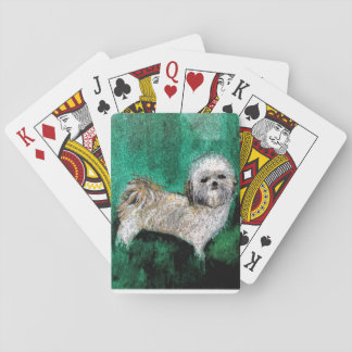 Playing cards for Shitzu lovers