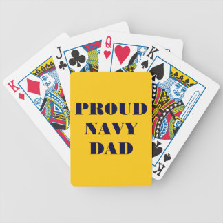 Playing Cards Proud Navy Dad