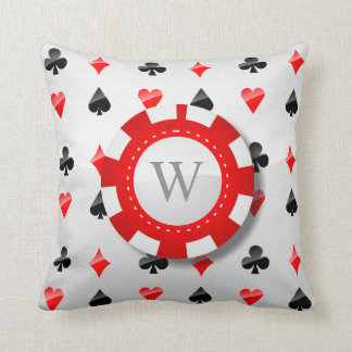 Playing Cards Suits Cushion