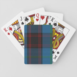 Playing Cards with Home/Hume Tartan