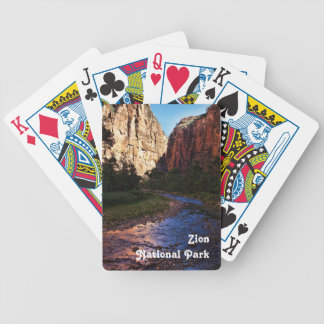 Playing Cards - Zion National Park