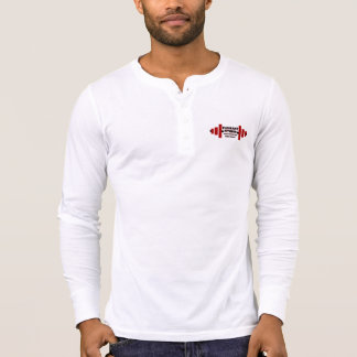 Pleasant Fitness  Henley long sleeve T-Shirt