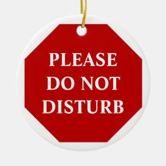 Please Do Not Disturb Door Hanger Ornaments