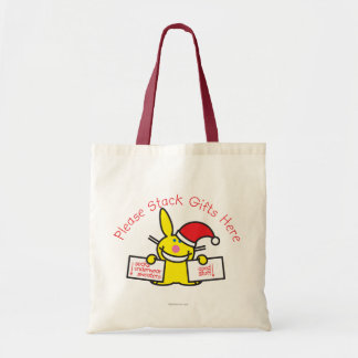 Please Stack Gifts Here Tote Bag