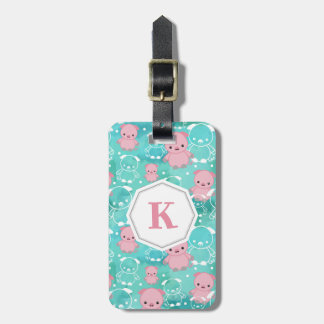 Plenty of Pigs - Monogrammed Luggage Tag