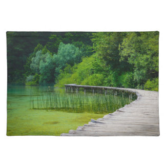Plitvice National Park in Croatia Hiking Trails Placemat