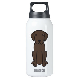 Plott Dog Cartoon Insulated Water Bottle