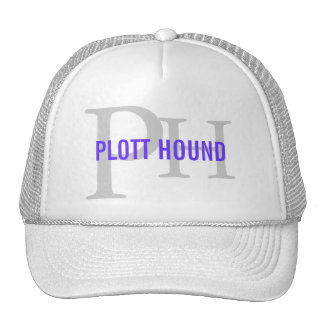 Plott Hound Breed Monogram Cap