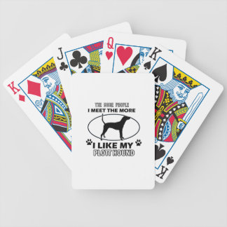 Plott Hound designs and gifts Bicycle Playing Cards