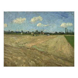 Ploughed Fields The Furrows by Van Gogh Photo Art