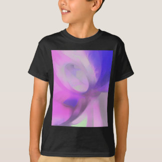Plum Juices Pastel Abstract T-Shirt