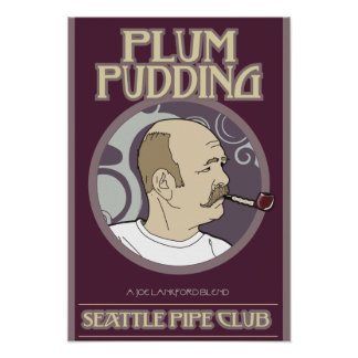 Plum Pudding Print