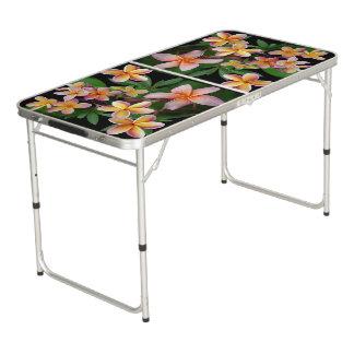 Plumeria Pong Table