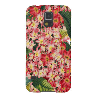 Plumeria Tropical Flowers Floral Case