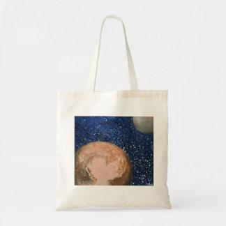 Pluto and Charon Tote Bag