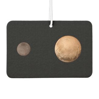 Pluto Charon Two (solar system) ~.jpg Car Air Freshener