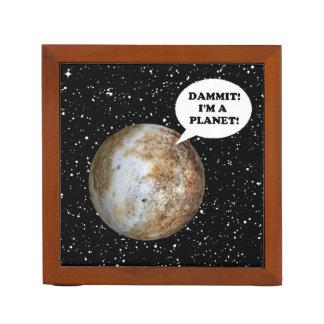 PLUTO: DAMMIT! I'M A PLANET! (solar system) ~ Pencil/Pen Holder