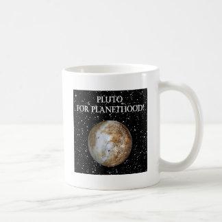 PLUTO FOR PLANETHOOD! (solar system) ~ Mug