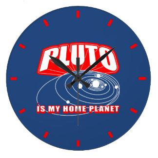 Pluto Is My Home Planet Clocks