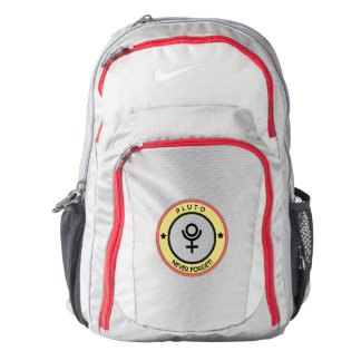 Pluto, never forget backpack