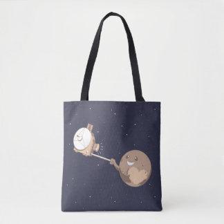 Pluto Selfie Tote Bag