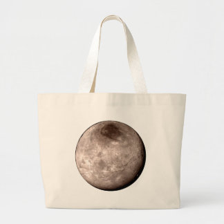 PLUTO'S MOON: CHARON (solar system) ~ Large Tote Bag