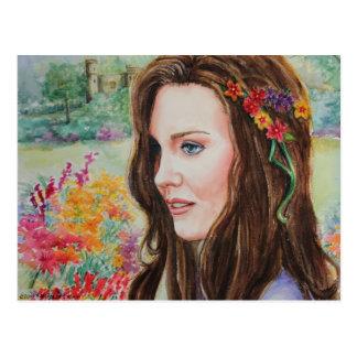 PMACarlson Princess Kate Postcard