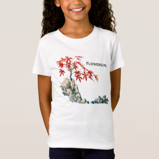PMACarlson Red Maple Bonsai Flowergirl T shirt