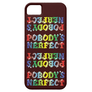 Pobody's Nerfect Bold iPhone 5 Barely There Case