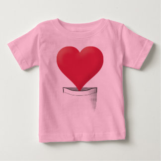 Pocket Heart Infant T-Shirt