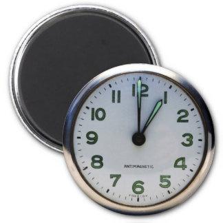 Pocket Watch 6 Cm Round Magnet