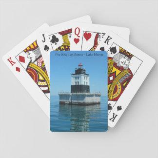 Poe Reef Lighthouse - Lake Huron Playing Cards
