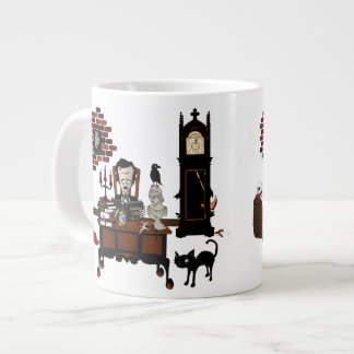 'Poe's Madness' Large Coffee Mug