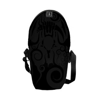 Poetry Of Silence Courier Bags
