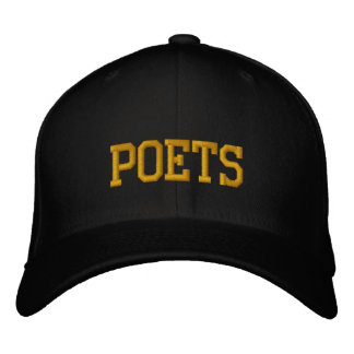 """""""Poets"""" Embroidered Baseball Cap"""