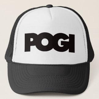 Pogi - Black Trucker Hat