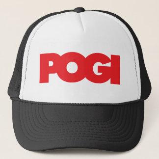 Pogi - Red Trucker Hat