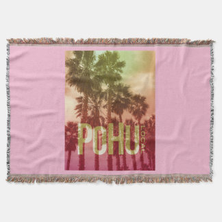 PoHuLocal-Pretty In Pink Snuggly Throw Blanket