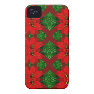Poinsettia Blackberry Case