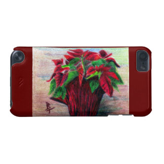 Poinsettia iPod Touch (5th Generation) Cover