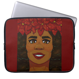 Poinsettia Laptop Sleeve