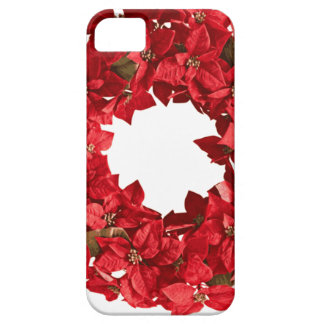 Poinsettia wreath.png barely there iPhone 5 case
